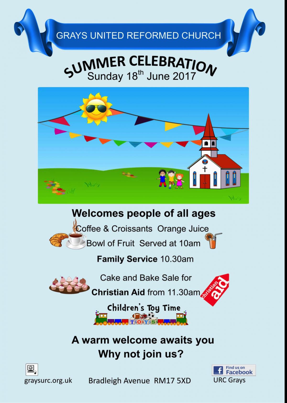 Grays summer 2017 celebration poster