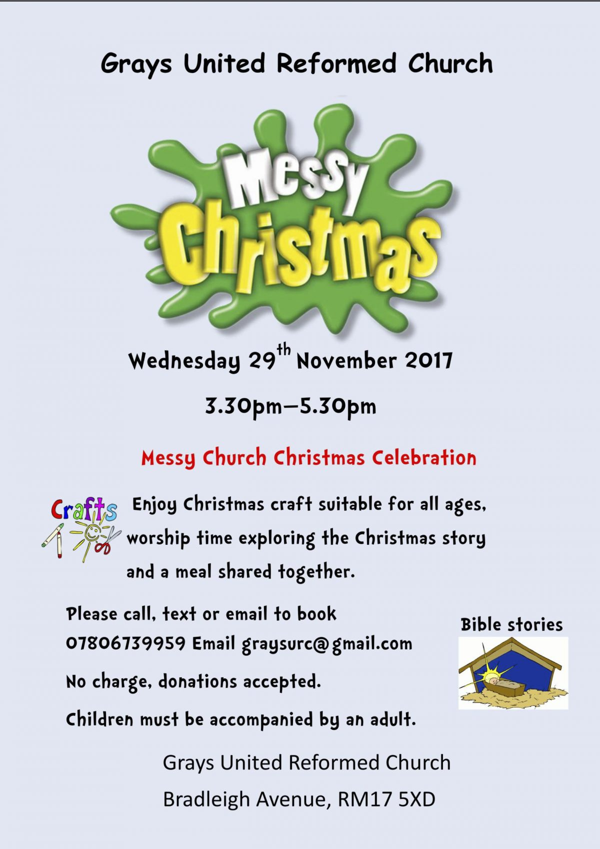Messy Church at Grays URC
